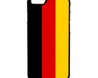 Flag of Germany iPhone Galaxy Note LG HTC Hybrid Rubber Protective Case