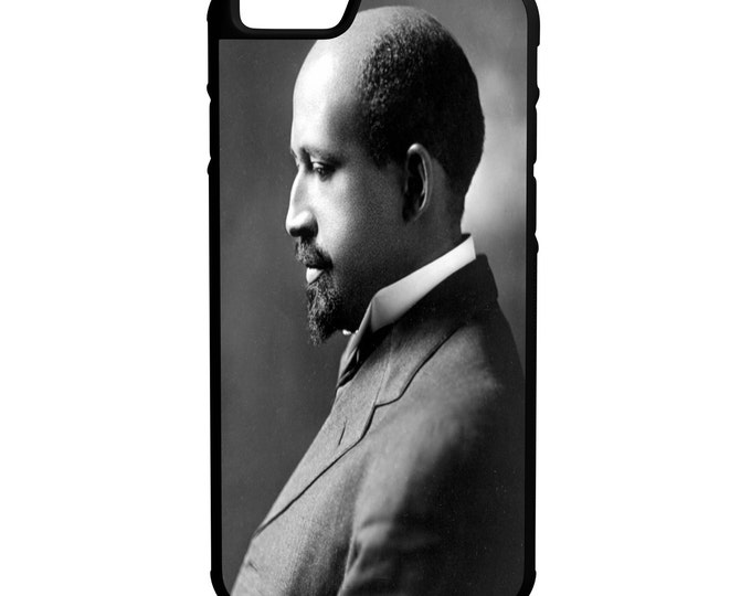 W.E.B Dubois Case iPhone Galaxy Note LG HTC Protective Hybrid Rubber Hard Plastic Snap on Case Black  Souls of Black Folk
