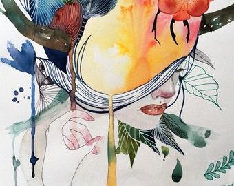 No title - original art by ongnphuong // Phuong Ong