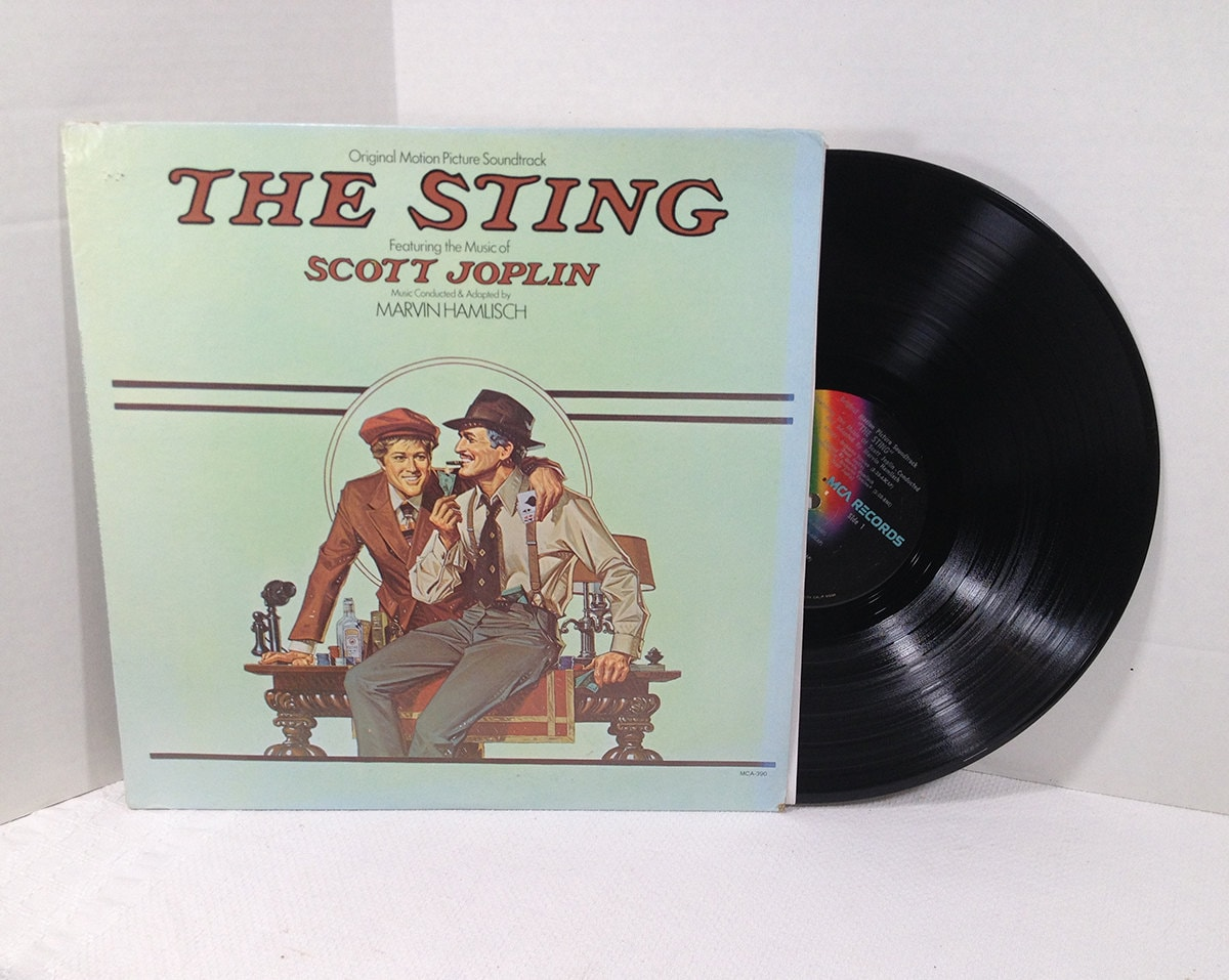 The Sting Soundtrack Vinyl Record Marvin Hamlisch Film Score