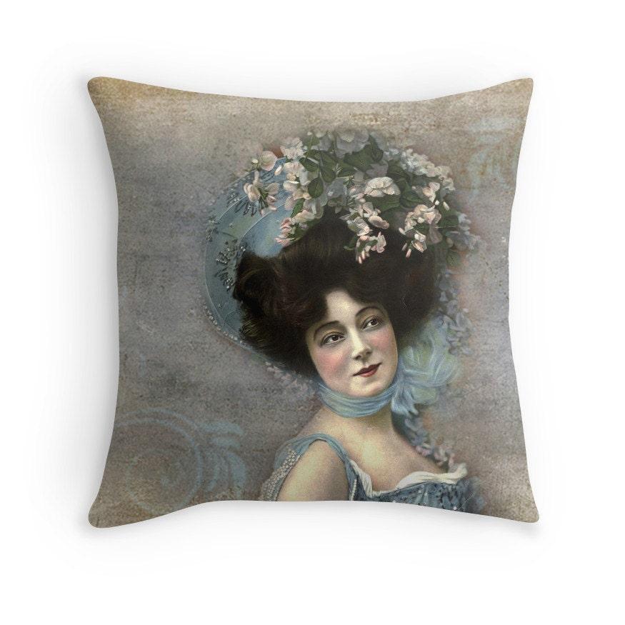 Boho Throw Pillow Feminine Decor Bohemian Decor Bohemian