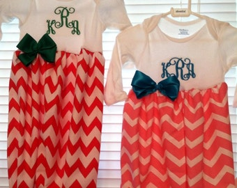 Personalized Infant Gown