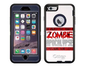 Apple iPhone 6 Otterbox Defender Hardest Part Zombie Apocalypse on White (B-1811-W)