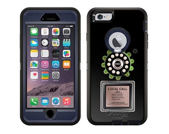 Apple iPhone 6 Otterbox Defender Rotary Payphone (B-713)