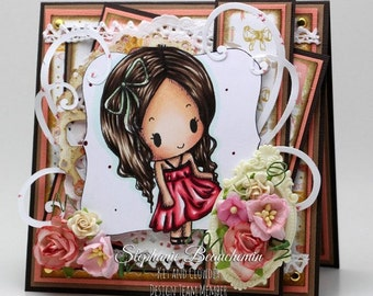 All occasion feminine and delicate card