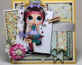 All occasion feminine card
