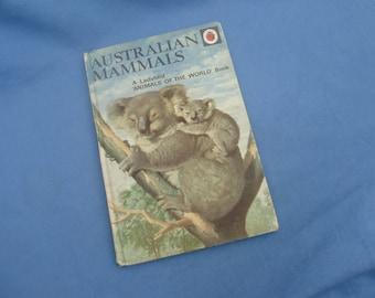 Vintage Ladybird Book Australian Mammals - Series 691 - 1970s Matt Covers