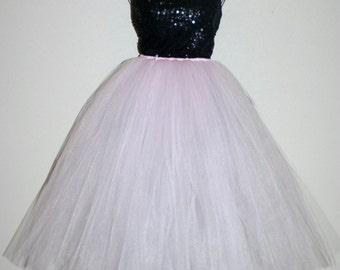 Blush Tutu Skirt, Custom ANY COLOR, Light Pink Tutu Skirt, Pink Tutu Skirt, Adult Pink Tutu Skirt, Adult Blush Tutu Skirt