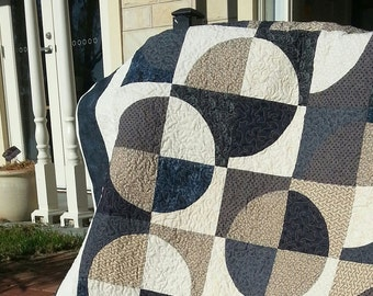 Handmade double size quilt