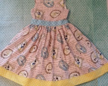 READY TO SHIP!  Adorable, Whimsical Girls/Toddler Disney Princess Dress 12m,2T,3T,4T,5T,6T,7