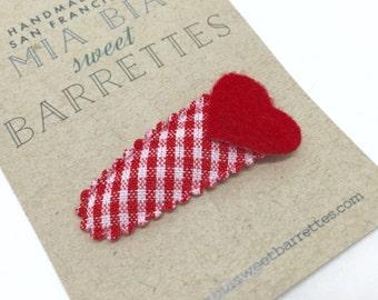 Red Heart Clippie
