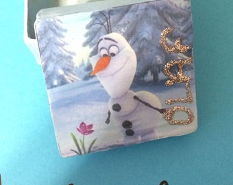 Frozen Olaf Trinket Box