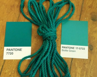 6mm Jute rope in Turquoise