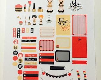 Be{YOU}tiful Sticker Sheet