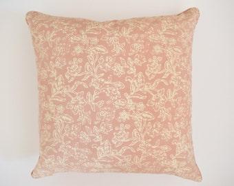 18 x 18 Brown Batik Cushion Cover