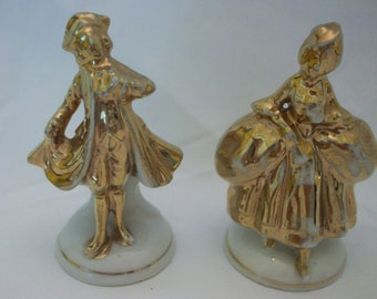 Made in Japan Colonial Couple Figurines