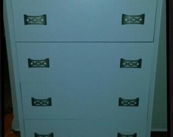 Mid Century Modern Highboy Dresser Tall Dresser Chest of Drawers