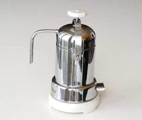 Vintage Electric Coffee Maker : Stella Espresso Coffee Maker vintage portable electric