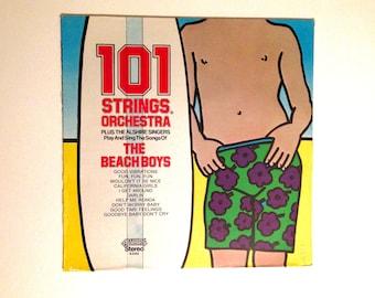 Rare Sealed Vinyl Record 101 Strings Sings The Beach Boys LP Album Seventies Good Vibrations Ronda