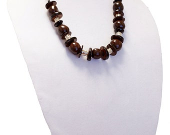 Brown Tagua Necklace