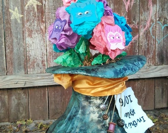 Alice in Wonderland Mad Hatter Centerpiece