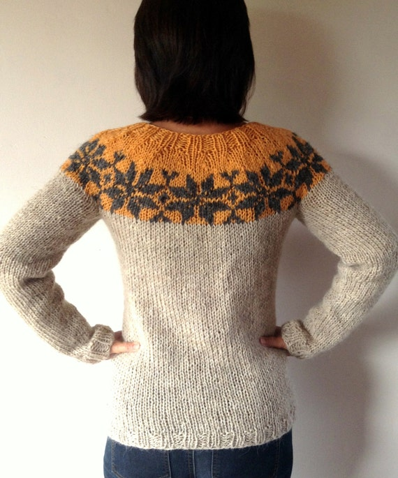 Sarah Lund handknitted sweater from The Killing made from