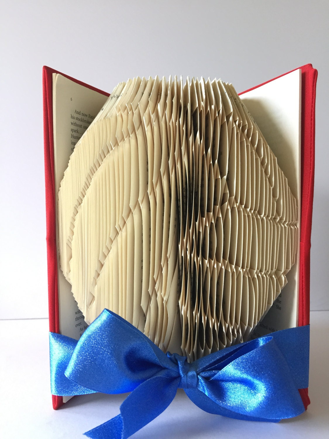 Volleyball book fold folded book art home decor gift for Best selling home decor etsy