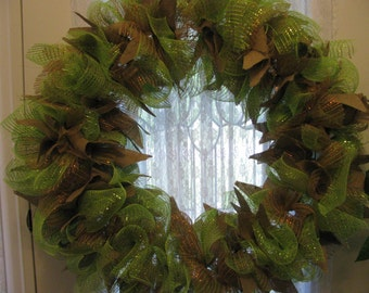 Wire Mesh wreath
