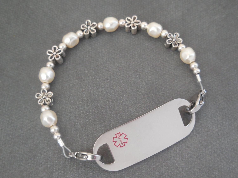 id bracelet alert bracelet allergy bracelet