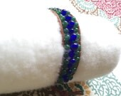 Beaded fitbit bracelet