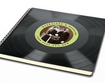 Personalized Wedding Guestbook - Wedding Album | Vintage Guest Book | Vintage Guestbook | Photo Album | Custom Guestbook | Vinyl Guestbook