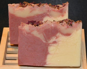 Handcrafted Sandalwood Rose Soap