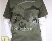 Dullahan Irish Headless Horseman Eco-friendly Organic Cotton Tee, Irish T-Shirt, Irish Mythology, Fae, Horror, Ghoul, St Patty's Day