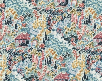 Cotton Quilt Fabric by the yard, Enchanted The Cottage Multi, Dear Stella, Stella-429