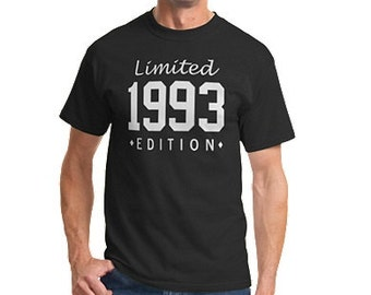 Limited Edition Custom Year Mens T-Shirt S-5X! FREE SHIPPING!