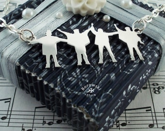 """FREE SHIPPING """"The Beatles"""" pendant necklace"""