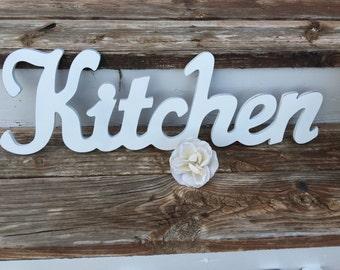 Kitchen, Kitchen Sign, Kitchen Wall Decor