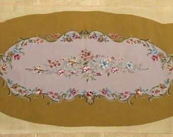 Large Panel of Unused Handmade Needlework, Circa 1950