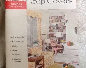 Vintage Singer How To Make Slip Covers