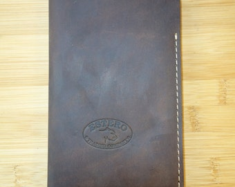 HANDMADE LEATHER MEMORANDA made in the usa   field notes
