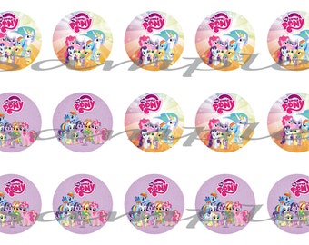 My Little Pony Bottle Cap (1 inch) images