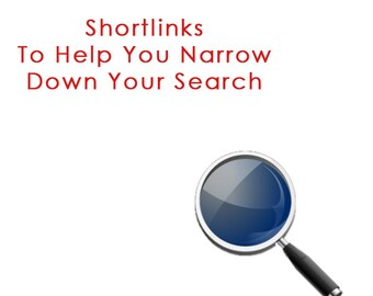Shortcut links to help you quickly locate what you are looking for