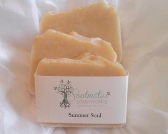 Sweet Lemon Shea Butter Soap ~ Sweet Summer Soap
