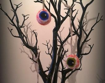 Hand Felted Eyeball