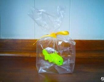 Green Gold fish - The Ultimate Pet, Fish in a bag, vegan.
