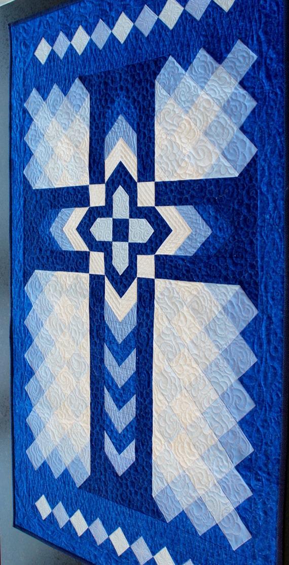 Christian Cross Pattern Quilt Pattern Christia...