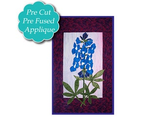 Bluebonnet Applique Quilt Kit PRE-CUT