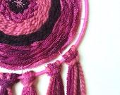 DIY Kit, dream catcher kit, weaving, wall art, urban outfitters, woven wall hanging, macrame kit, fiber arts