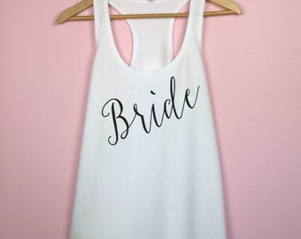 Bridal Shower Gift. Bride Gift. Bride Tank. Bride Shirt. Bachelorette Shirt. Bachelorette Gift. Bride Tank Top. Bride TankTop. Bride Shirt.