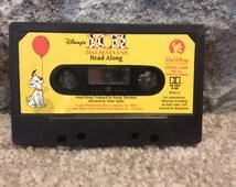 Vintage 101 Dalmatians Read Along Story Cassette Tape